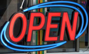 office open sign