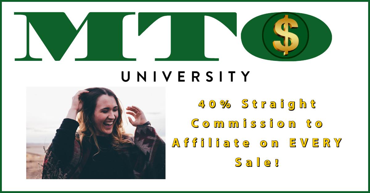 40% Straight Commission